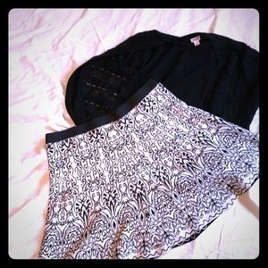 Reversible knit skirt. Never worn. XXL